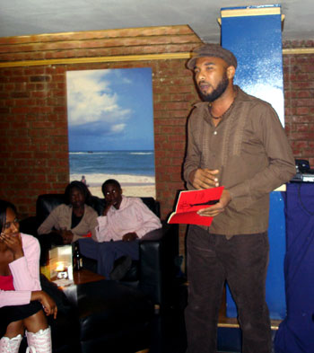 Performance Poet - Anthony Joseph